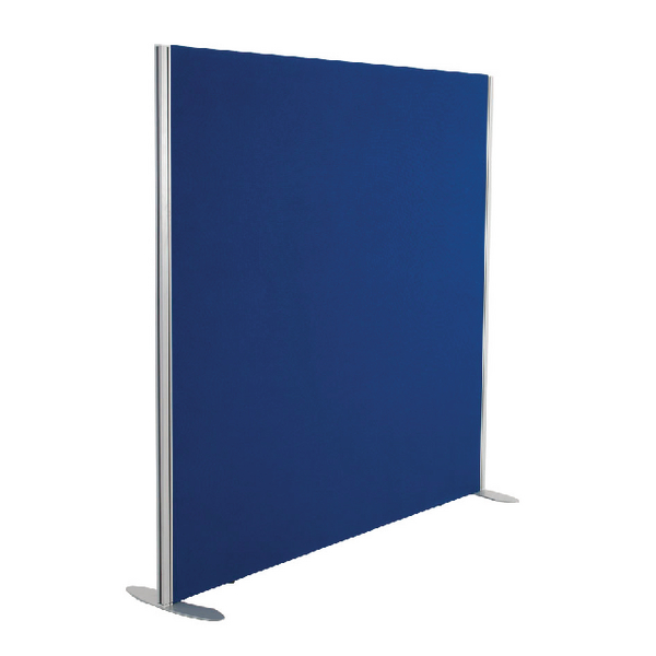 Jemini 1200x1600 Blue Floor Standing Screen Including Feet KF74328