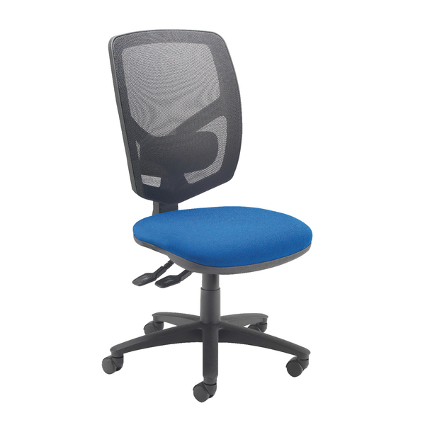 Arista Mesh Back Operator Blue Chair KF74496