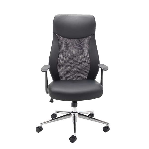 First Mesh High Back Operators Chair KF74830