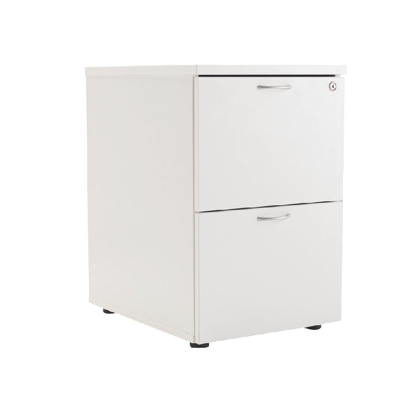 First Filing Cabinet 2 Drawer White KF74833