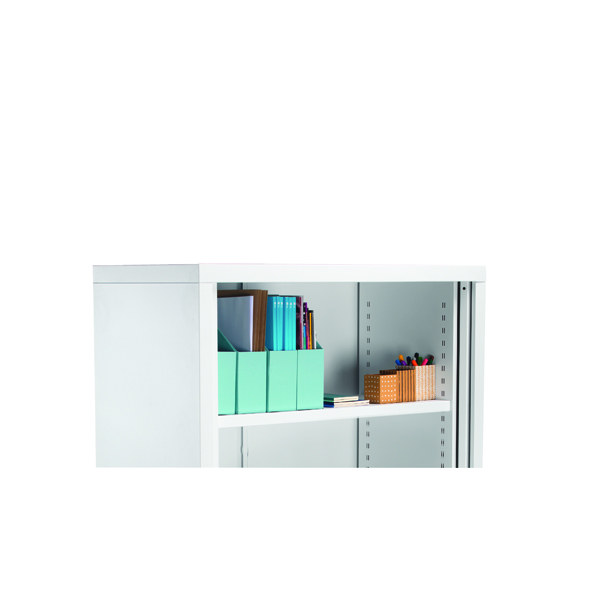 First Steel Tambour Combi Shelf Silver for W1000mm KF74867