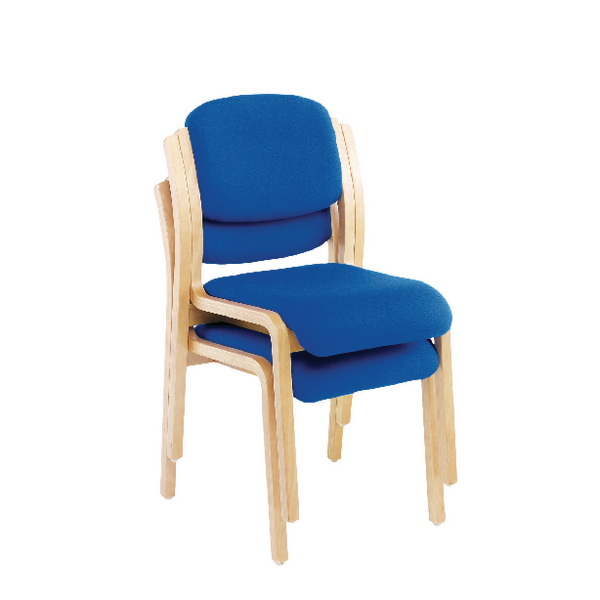 First Wood Side Chair Blue KF74897