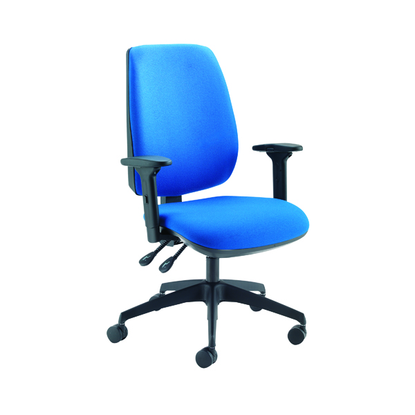 Jemini High Back Task Chair Blue KF74956