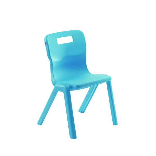 Titan 1 Piece 380mm Sky Blue Chair (30 Pack) KF78626
