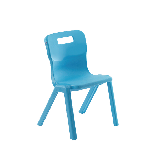 Titan 1 Piece 430mm Sky Blue Chair (10 Pack) KF78577