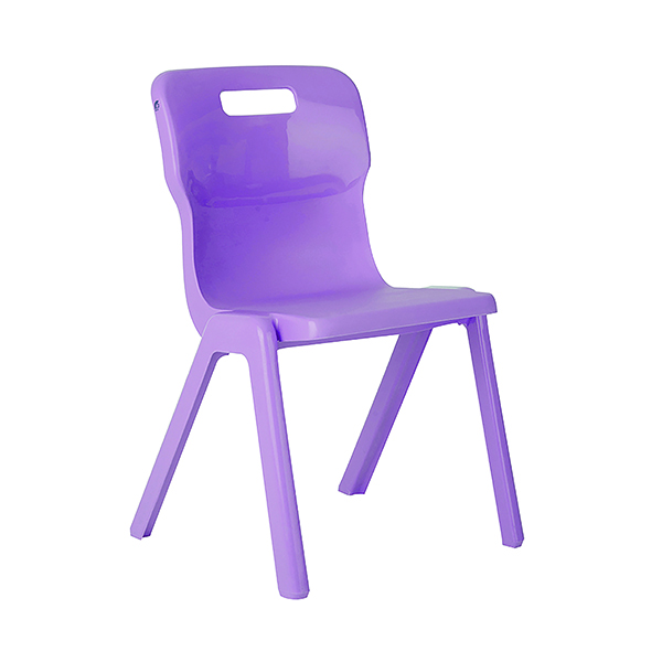 Titan One Piece Chair 310mm Purple (30 Pack) KF78605