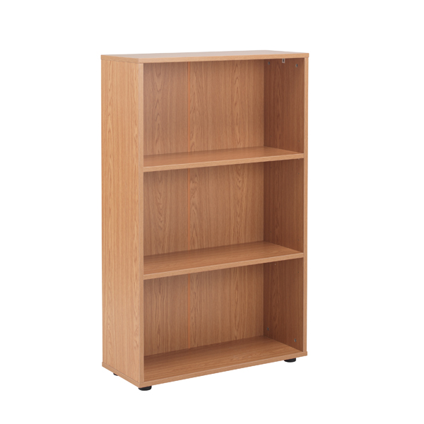 Jemini 18 Oak 1236mm Two Shelf Open Bookcase KF78967