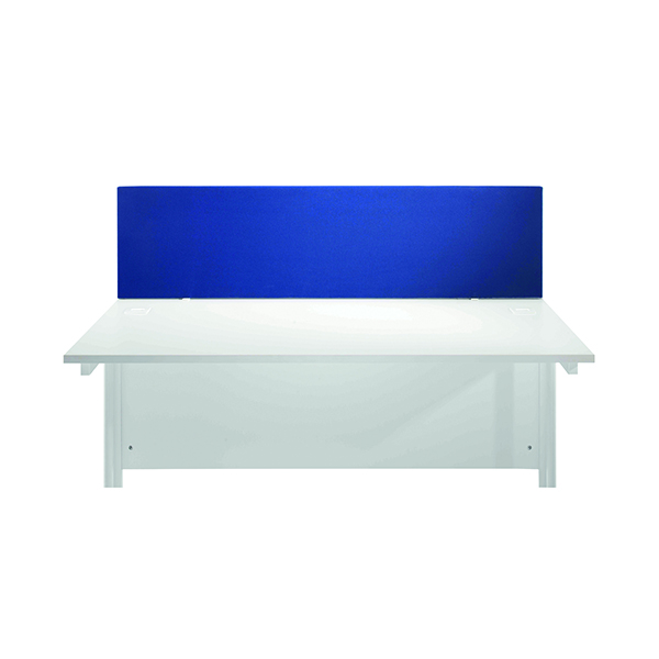 Jemini Blue 1800mm Straight Desk Screen KF78982