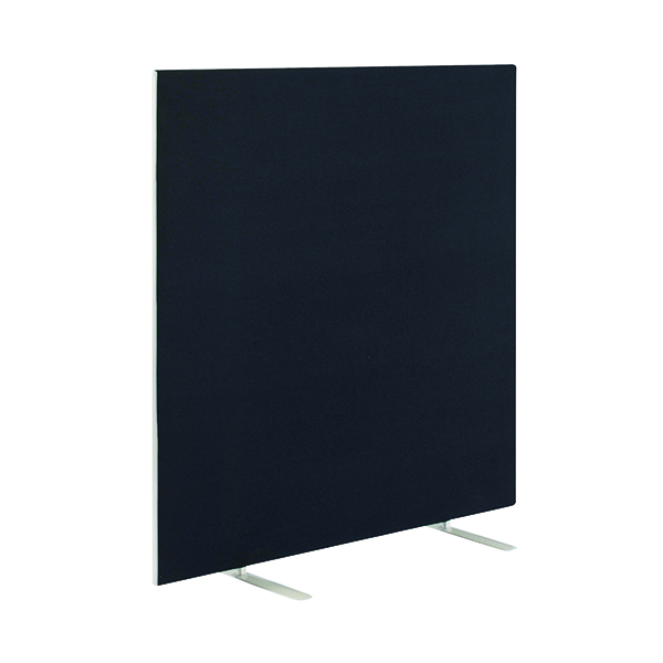 Jemini Black 1800x1600mm Floor Standing Screen KF79015