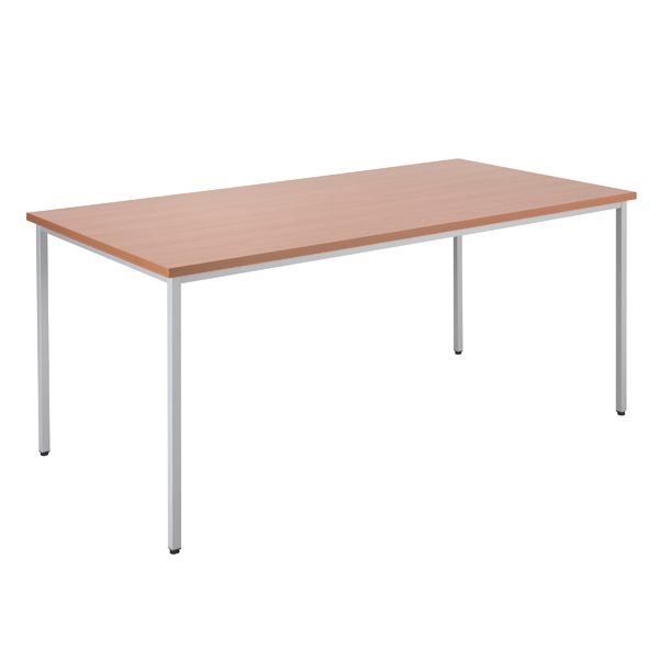 Jemini Beech Multipurpose Rectangular Table W1600mm KF79024