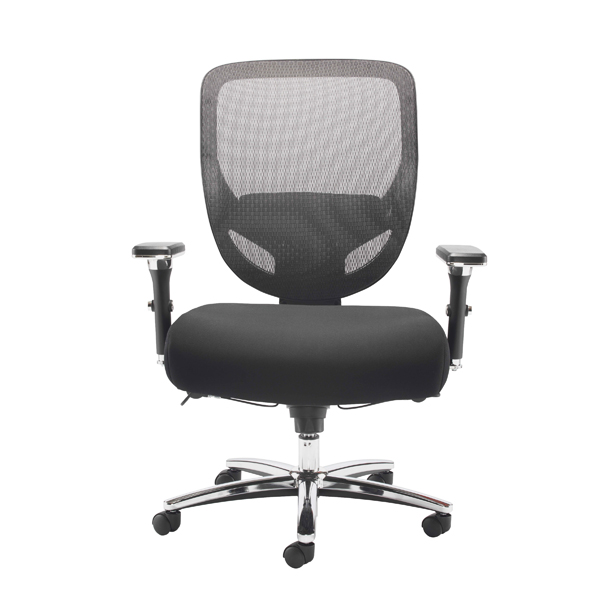 Avior Congo Big and Tall Heavy Duty Chair Black KF79140