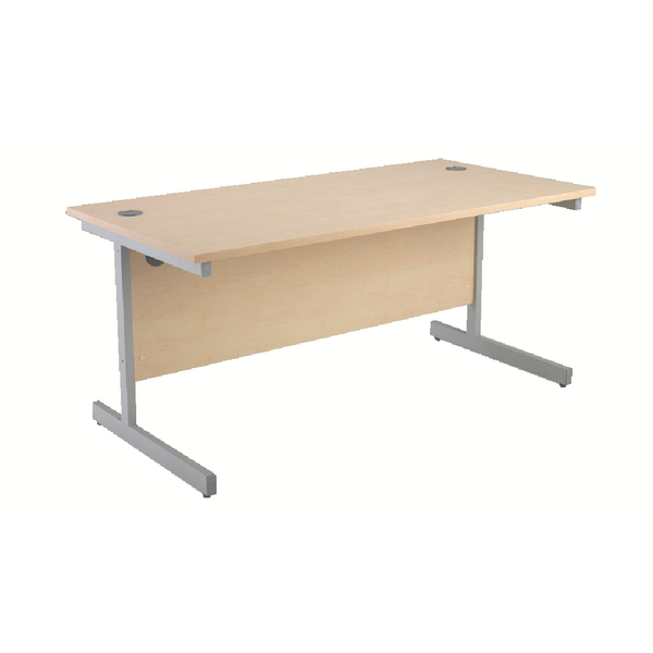 Jemini Maple 1200mm Rectangular Cantilever Desk KF838077