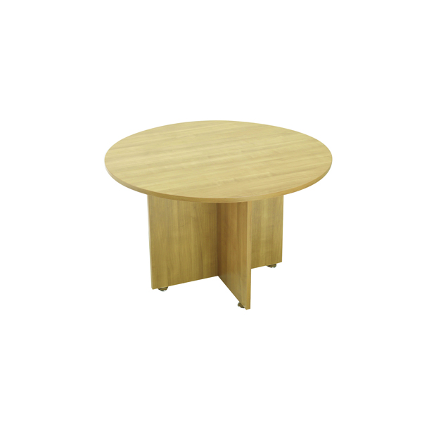 Avior Ash 1200mm Round Meeting Table KF838268