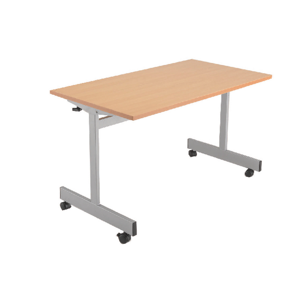 Jemini Beech 1600mm Flip Top Table KF838322