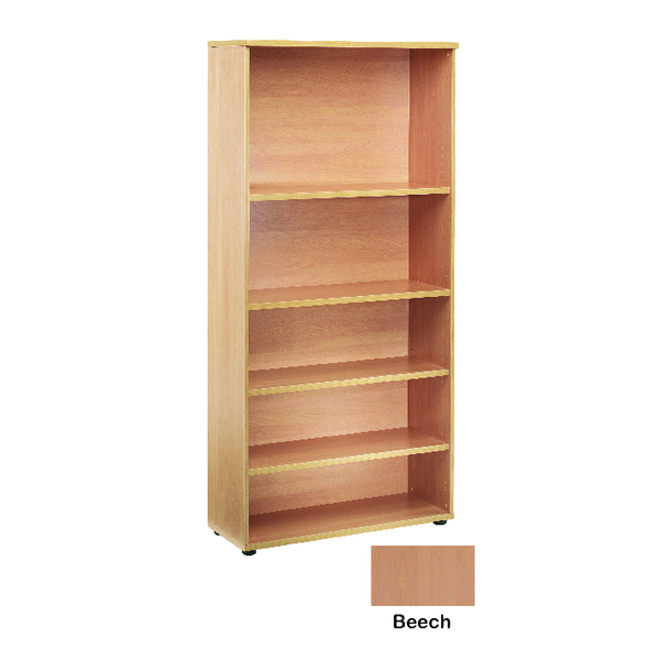 Jemini 4 Beech Shelf 1800mm Bookcase KF838414
