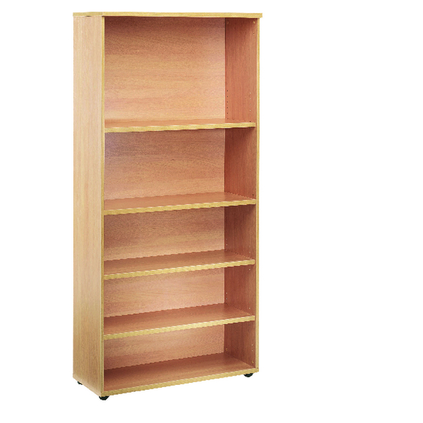 Jemini 4 Oak Shelf 1800mm Bookcase KF838418