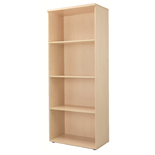 Jemini Maple 2000mm Bookcase 4 Shelf KF838423