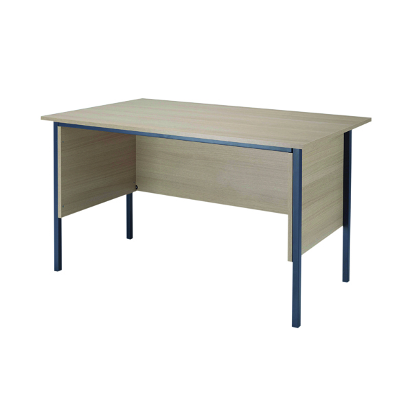 Jemini Intro Warm Maple 1200mm 4 Leg Desk KF838532