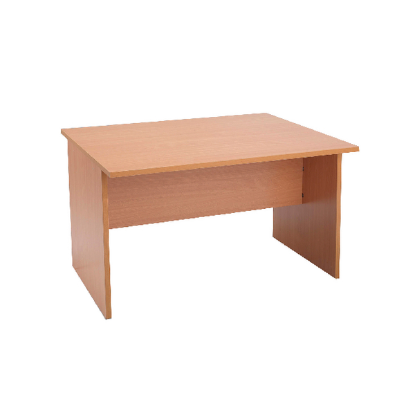 Jemini Intro Beech 1200mm Boardroom Table Mid Section KF838570
