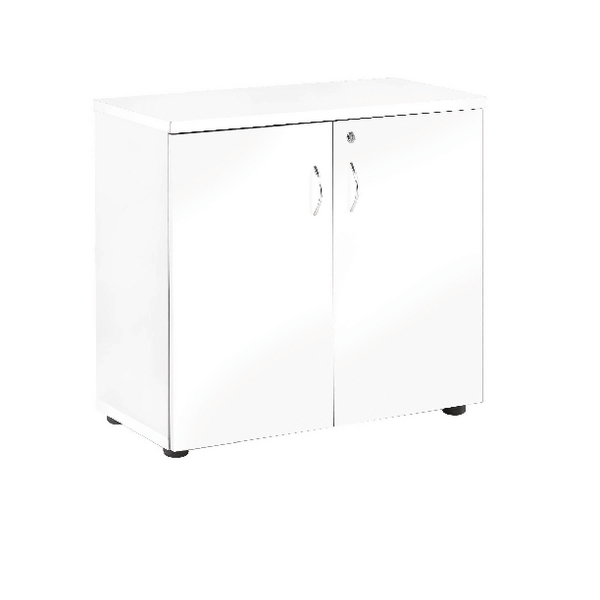 Jemini White 1 Shelf 730mm Cupboard KF838619