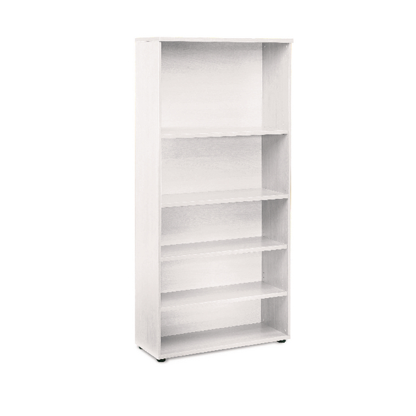 Jemini White 1800mm Bookcase 4 Shelves KF838620