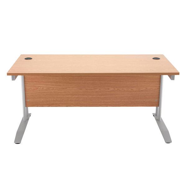 Arista Beech 1200mm Rectangular Desk KF838622