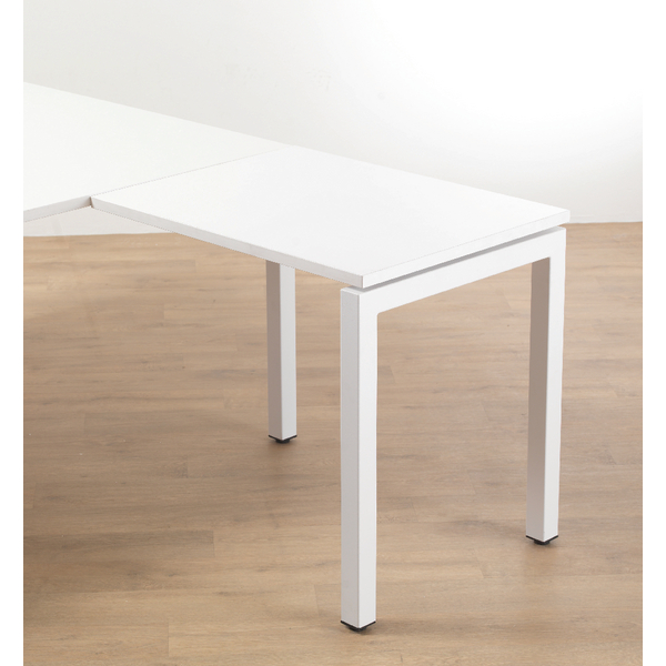Arista White Bench Return Unit 1600mm Starter KF838827
