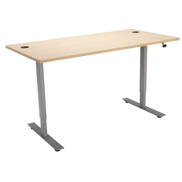 Maple 1200mm Sit Stand Desk KF838841