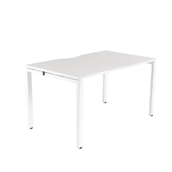 Arista White 1400x800mm Bench 1 Person Starter KF838988