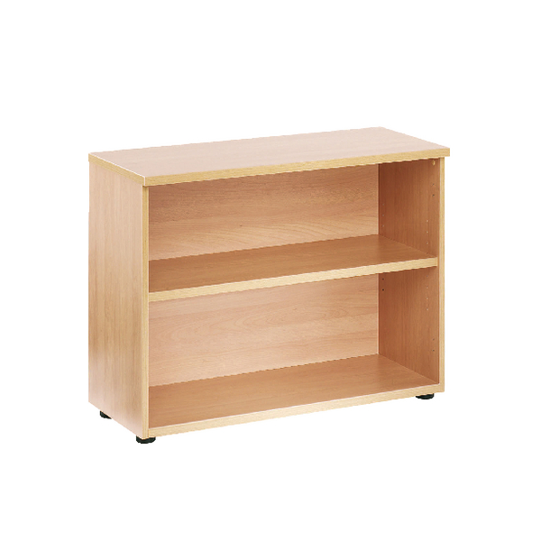 First 700mm Bookcase 1 Shelf Beech KF839198