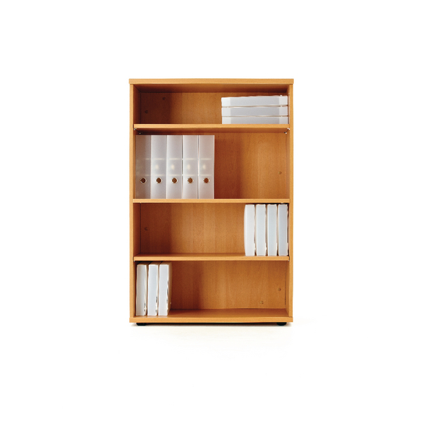 First 1200mm Bookcase Beech KF839214