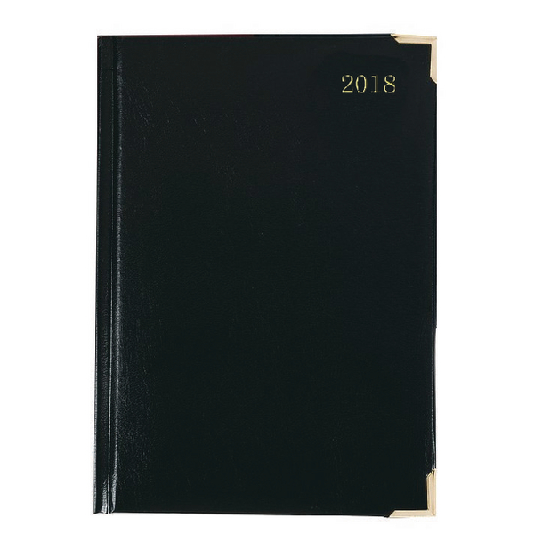 Executive 2018 Black A4 Day/Page Diary KFEA41BK18