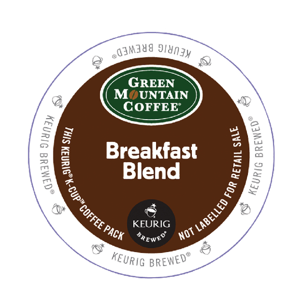 Green Mountain Coffee Breakfast Blend Pods (24 Pack) 93-07003