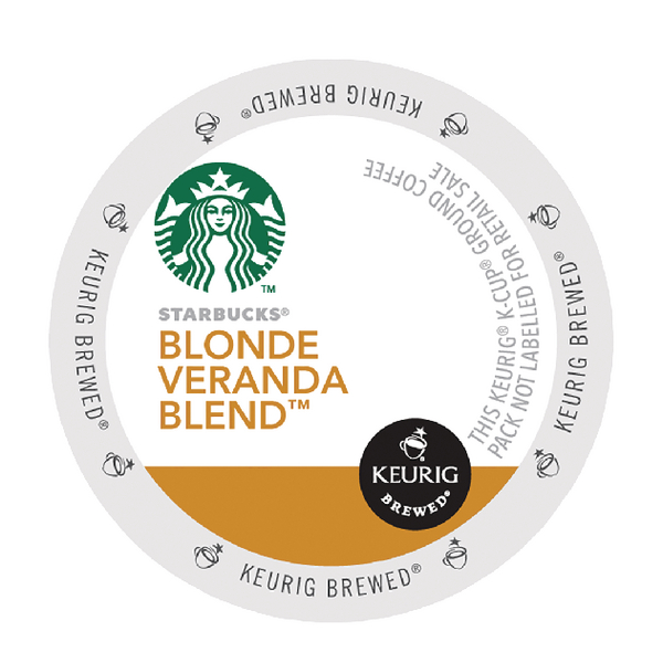 Starbucks Blonde Veranda Blend Pods (24 Pack) 93-07017