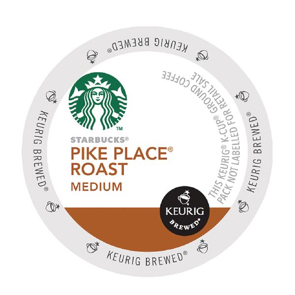 Starbucks Pike Place Roast Pods (24 Pack) 93-07019