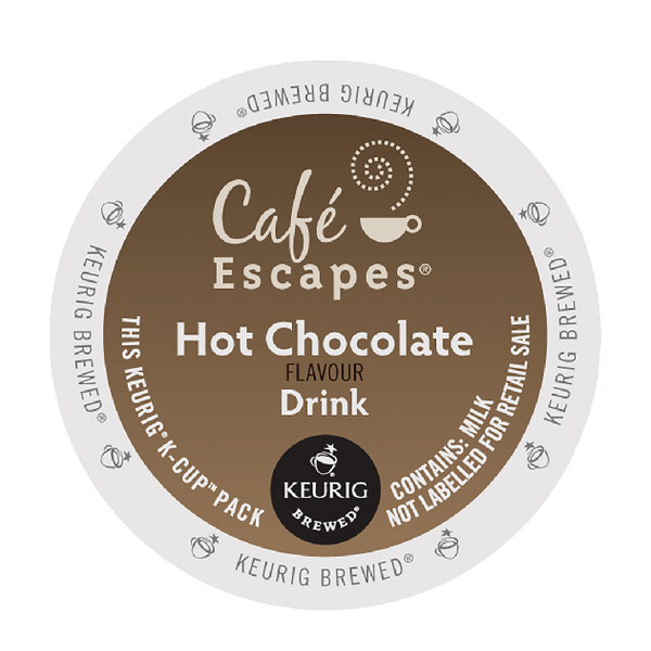 Cafe Escapes Hot Chocolate Flavour Drink Pods (24 Pack) 93-070201