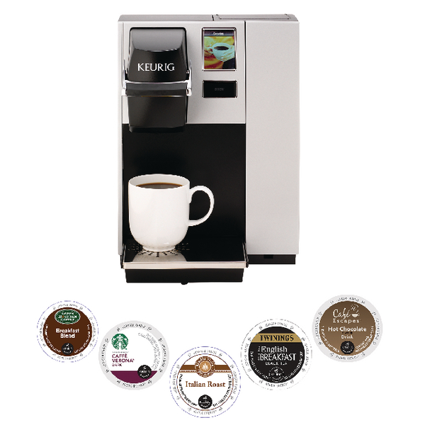 Keurig Pods x 5 Cases With Free K150 Coffee Machine (5 cases Pack) KG810010