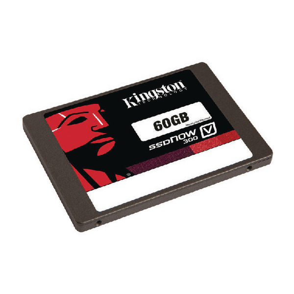 Kingston Black SSDNow V300 60GB 2.5in Solid State Hard Drive SV300S37A/60G
