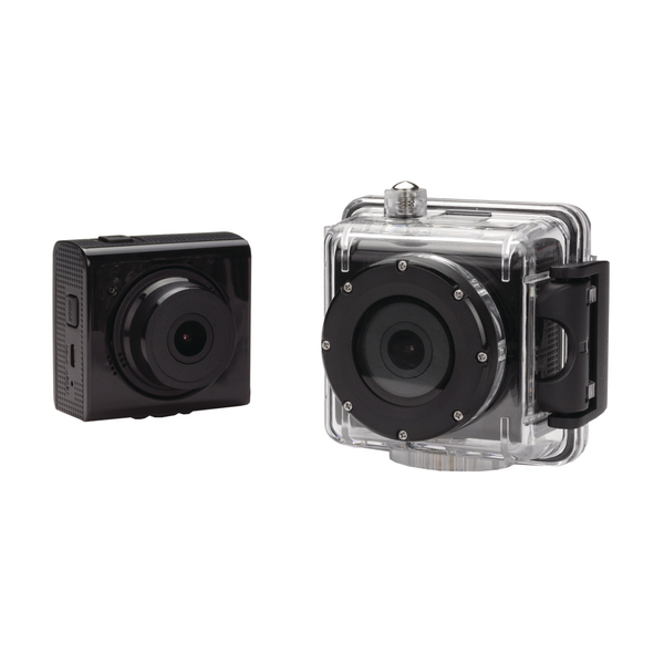 Kit Splash 1080p Action Camera Black  KVSPLASHBK