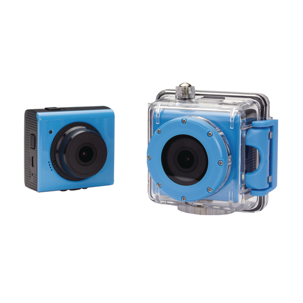 Kit Splash 1080p Action Camera Blue  KVSPLASHBL