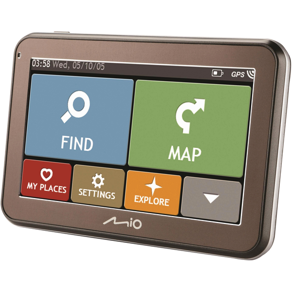 Mio Spirit 5100 Sat Nav Western Europe  MI4SP5100WE