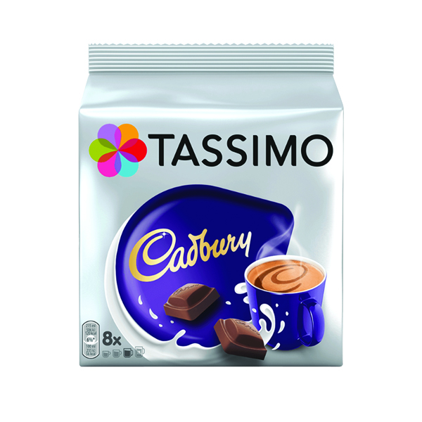 Tassimo Cadbury Hot Chocolate 8 x 240g Capsules (5 Pack) 131270