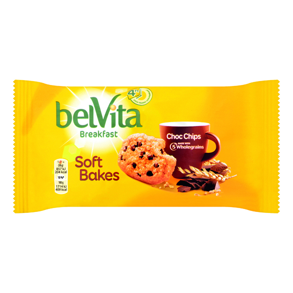 Belvita Soft Bakes Breakfast Biscuit 50g (20 Pack) 4248176