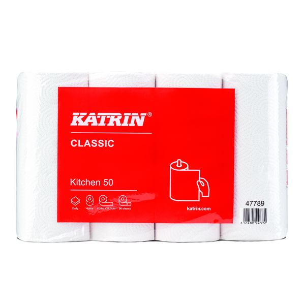 Katrin Classic Kitchen Roll 50 Sheet (32 Pack) 47789