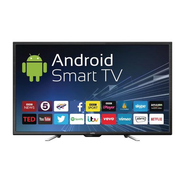 50inch Android Smart Free view T2 HD LED TV With Wi-Fi C50ANSMT
