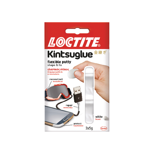 Loctite Kintsuglue Putty White 5g (3 Pack) 2239177