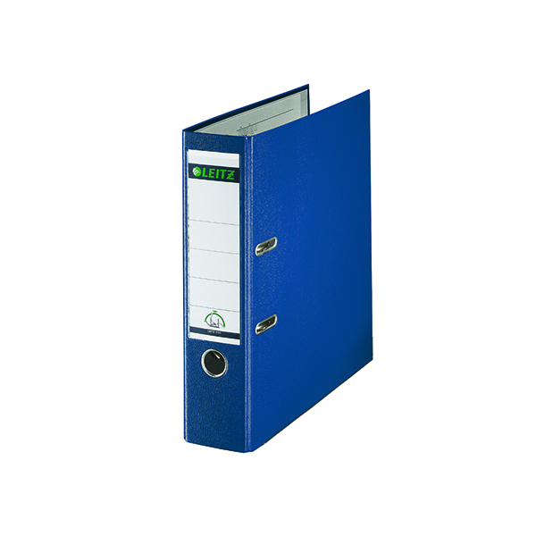 Leitz 180° Polypropylene A4 80mm Blue Lever Arch File (10 Pack) 10101035