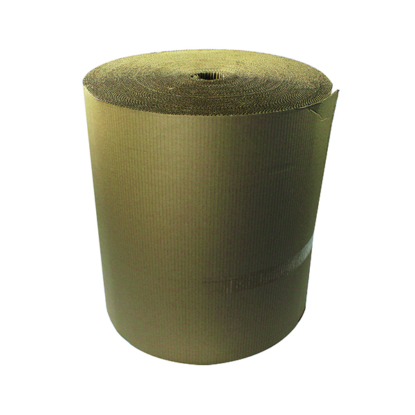Corrugated Paper Roll 650mm x 75m Recycled Kraft SFCP-0650