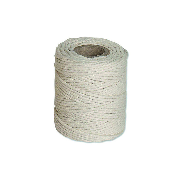 Flexocare Medium White Cotton Twine 500gms (6 Pack) 77658010