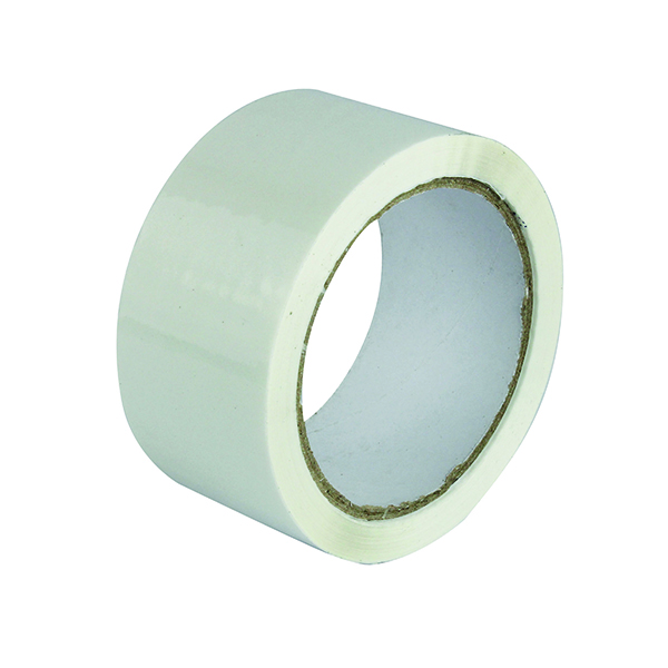 Polypropylene Tape 50mm x 66m White (6 Pack) APPW-500066-LN